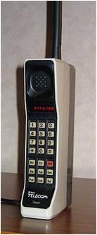 Znalezione obrazy dla zapytania telefon pierwszej generacji